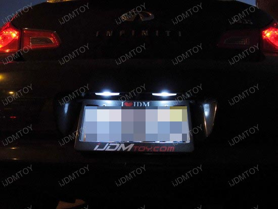 Infiniti - G35 - car - interior - led - lights - 1
